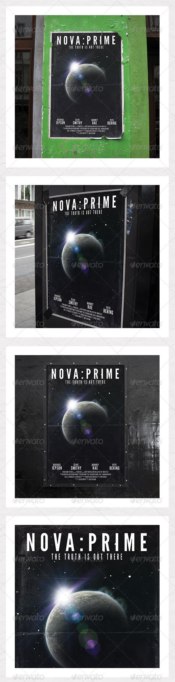 GraphicRiver Sci Fi Film Poster 5522643