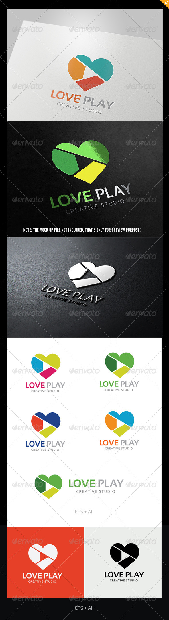Love Play - Vector Abstract
