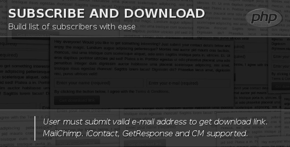 CodeCanyon Subscribe & Download 5522771