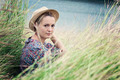 Girl In The Grass - PhotoDune Item for Sale