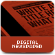 The Digital Newspaper - GraphicRiver Item for Sale
