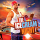 The Ice Cream Night Flyer - GraphicRiver Item for Sale