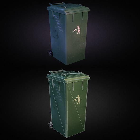 3DOcean Trash Dumpster 01 5522912