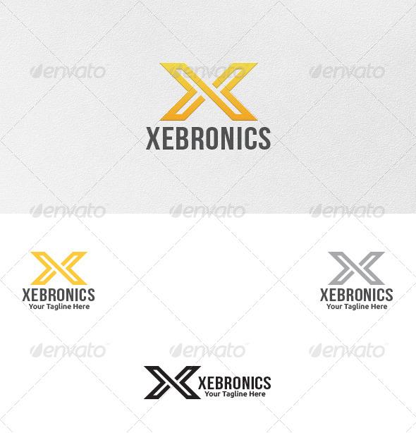 GraphicRiver Letter X Logo Template 5522946