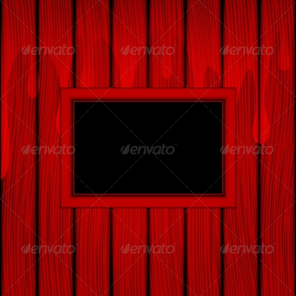 GraphicRiver Red frame 5522958