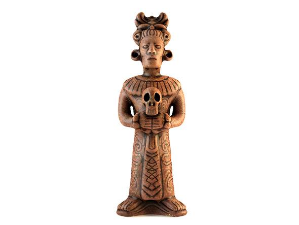 3DOcean Low Poly Mayan Priest Replica 5524106