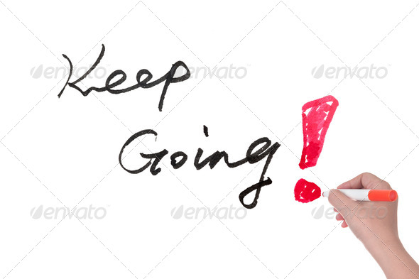 Keep going - Stock Photo - Images