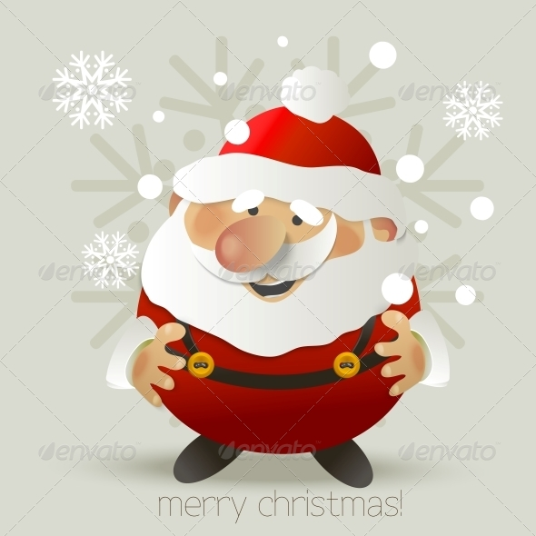 GraphicRiver Santa Claus Vector Illustration 5525081