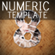 Numeric Photo Presentation Template - GraphicRiver Item for Sale