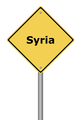 Warning Sign Syria - PhotoDune Item for Sale