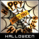 Halloween Greeting Card - Spider Web