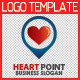Heart Point Logo Template - GraphicRiver Item for Sale