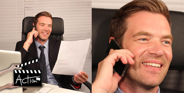 VideoHive Businessman In Office 3 5528646