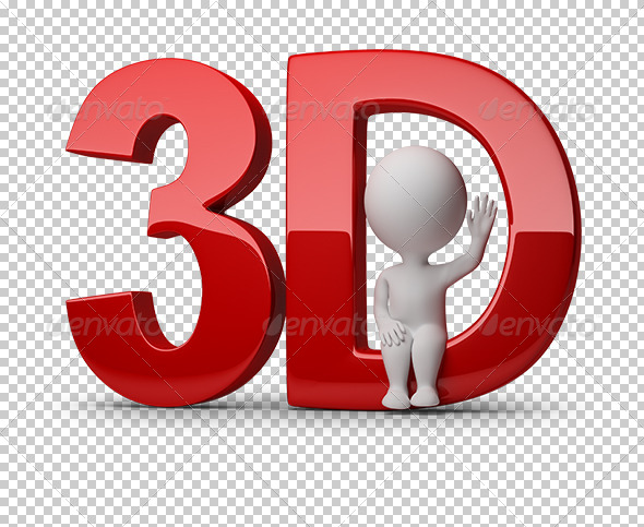 GraphicRiver 3D small people 3d 5530900