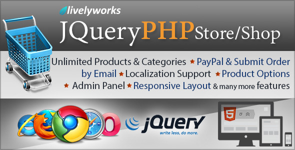 CodeCanyon JQuery PHP Store Shop 5531393