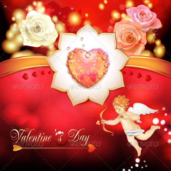 GraphicRiver Valentine s day card 5531523