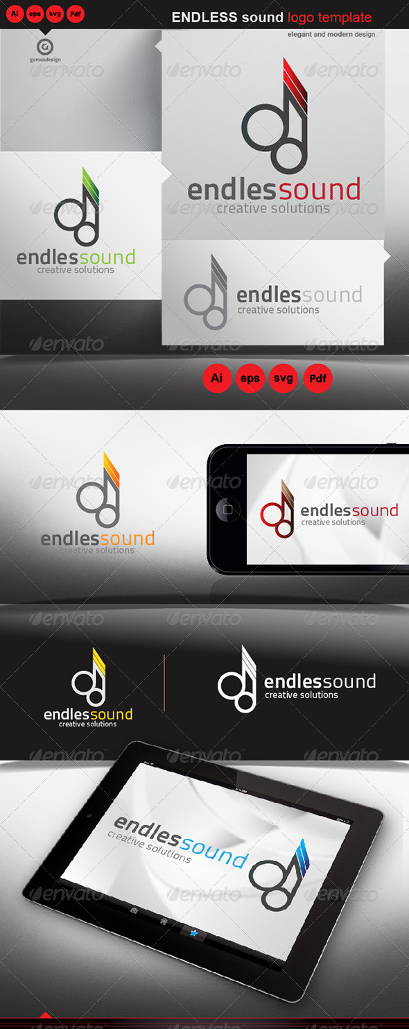 Endless Sound - Logo Templates