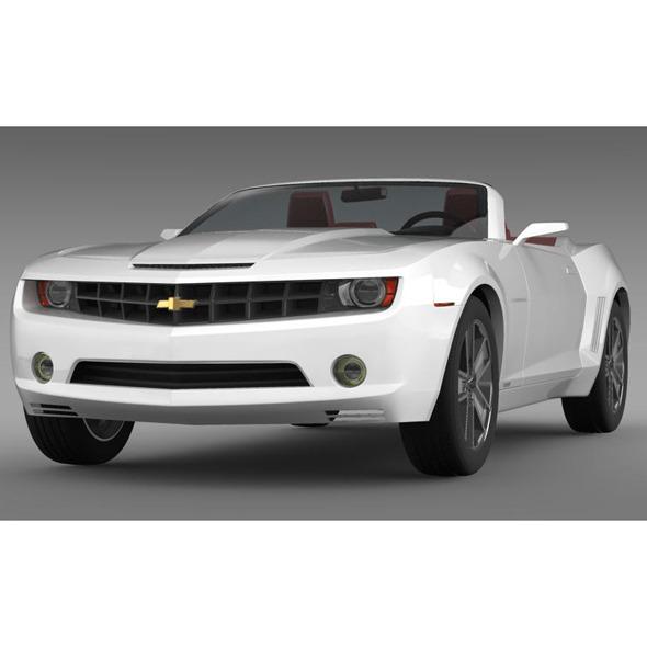 3DOcean Chevrolet Camaro Convertible Concept 5531545