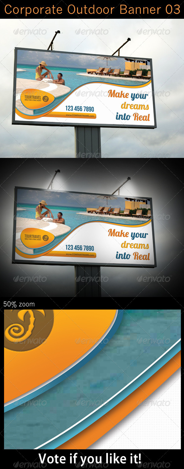 GraphicRiver Corporate Outdoor Banner 03 5533360