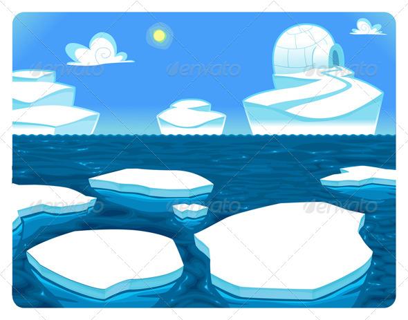 GraphicRiver Polar Scene 5536112