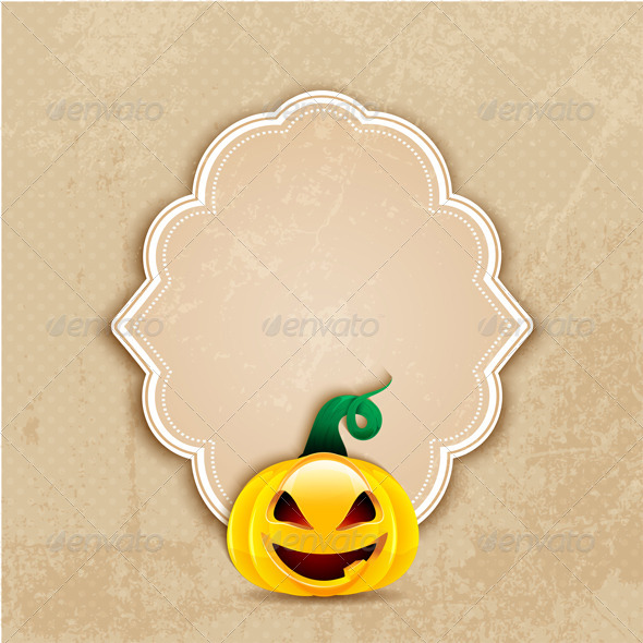GraphicRiver Grunge Halloween Background 5537649