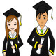 Graduating Students - GraphicRiver Item for Sale