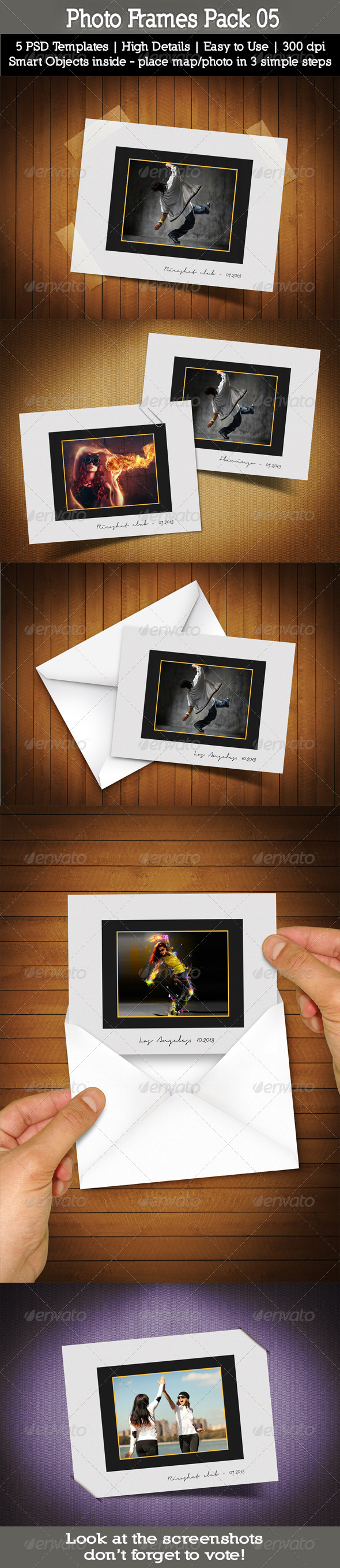 GraphicRiver Photo Frames Pack 05 5515512