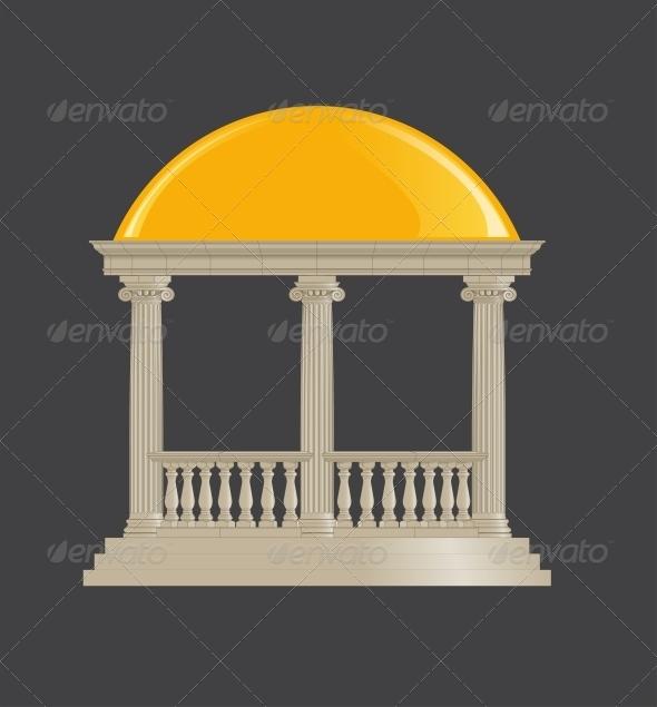 GraphicRiver Rotunda Classic Ionic Order 5538857