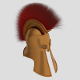 Spartan Helmet v2  - 3DOcean Item for Sale