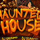 Haunted House Halloween Flyer Template - GraphicRiver Item for Sale