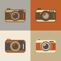 Retro Camera Icons - PhotoDune Item for Sale
