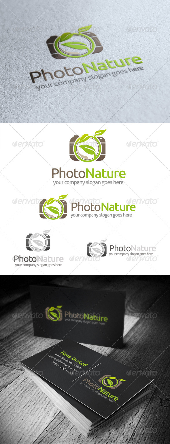 Photo Nature Logo - Objects Logo Templates