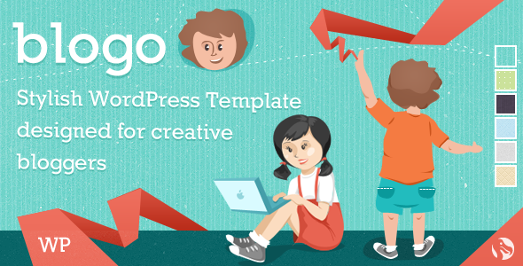 Blogo - Stylish WP Theme for Creative Bloggers - Personal Blog / Magazine