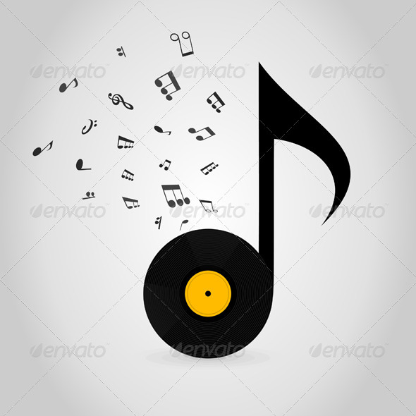 GraphicRiver Vinyl Note 5540062