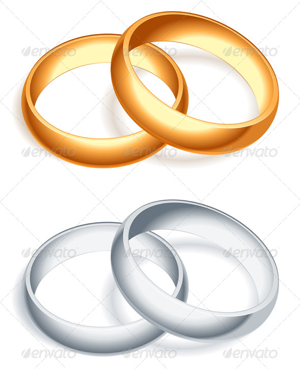 GraphicRiver Wedding Rings 5540528