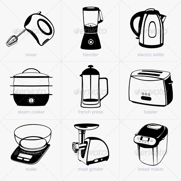GraphicRiver Kitchen Tools 5540633
