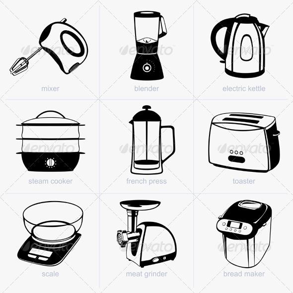 GraphicRiver Kitchen Tools 5540633