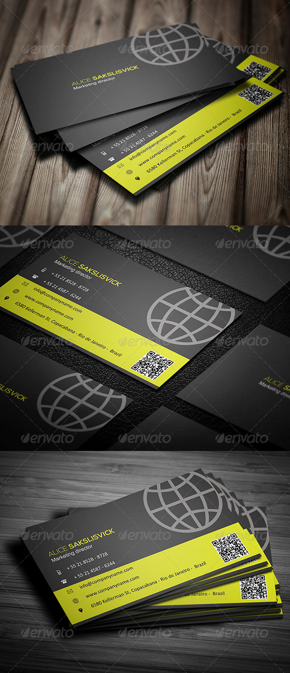 GraphicRiver Corporate Business Card 012 5507190