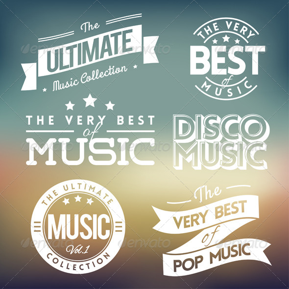 GraphicRiver Music Labels 5541545