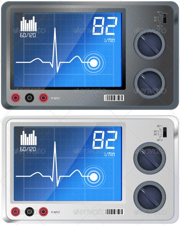GraphicRiver ECG Monitoring 5542087