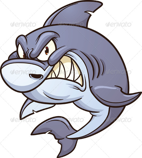 GraphicRiver Angry Shark 5542202