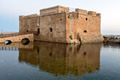 Medieval fort in Paphos port - PhotoDune Item for Sale