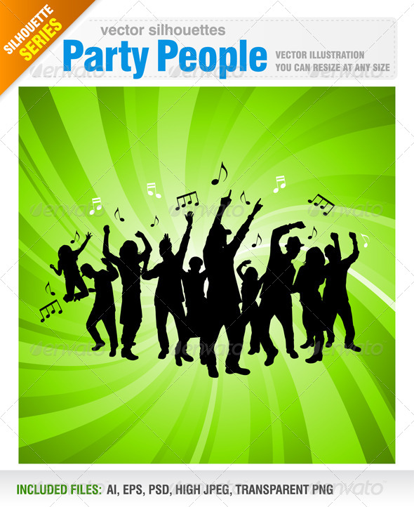 GraphicRiver Party People 5542622