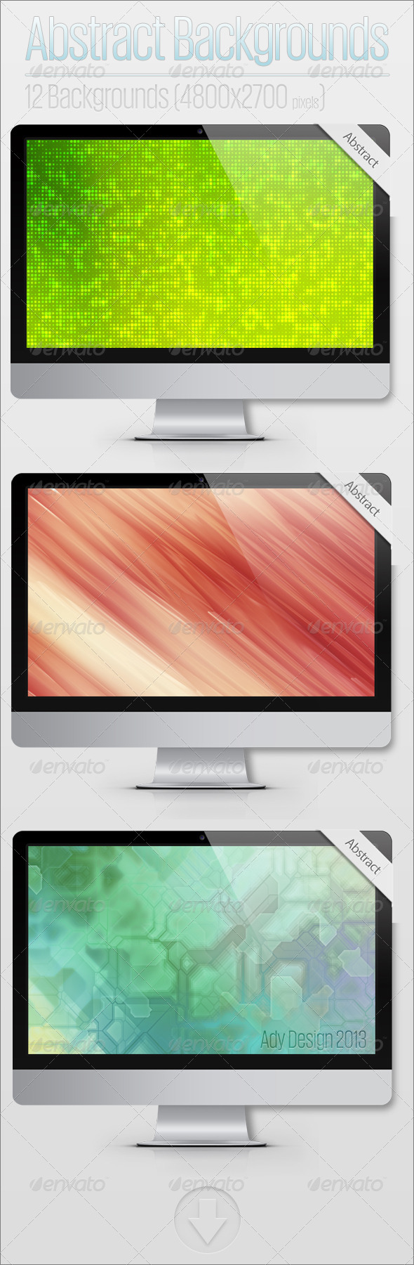 GraphicRiver Abstract backgrounds 5542986