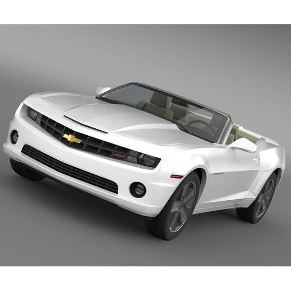 3DOcean Chevrolet Camaro NeimanMarcus Convertible 2011 5542987