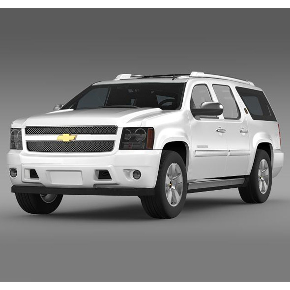 3DOcean Chevrolet Suburban 75th Diamond Edition 5544018