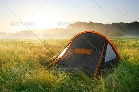 Tent - Stock Photo - Images