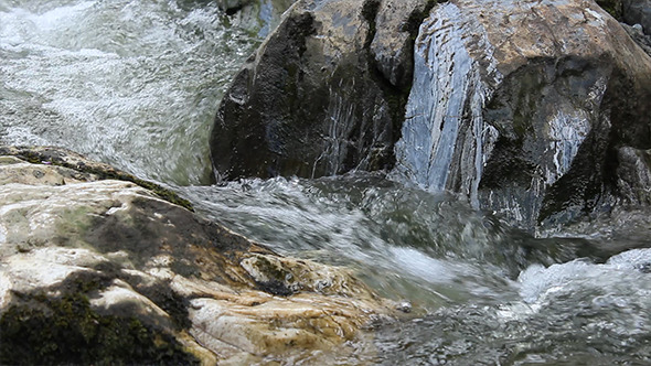 VideoHive River Rapids Close Up 5544609