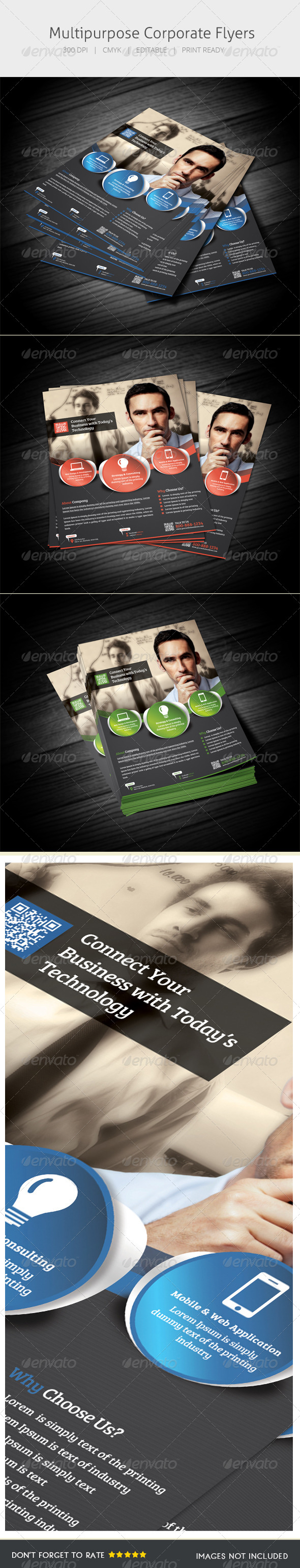 GraphicRiver Multipurpose Flyer IV 5517444