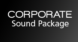 Corporate sound package